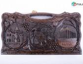Նարդի ընկուզենու փայտից հայկական տաճարների քանդակներով