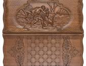 Նկարազարդ, յուրօրինակ հաճարի փայտից նարդի