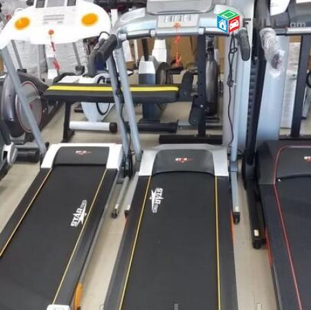 Մարզասարք վազքուղի / 2 մատոռ / էլեկտրական / նոր փակ տուփով