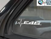 BMW E46 Nakleyka (Բարձր որակ) 2 հատ