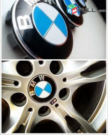 Bmw kalpak bandaji BMW Anvaheci Kalpakner 4 հատ (68mm) (Նոր)