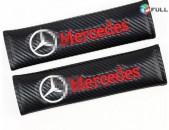 Amragotu chexol Mercedes-Benzi Amragotu Carbonvi Nakladka (2 հատ)