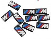 BMW Emblem M bmw nakleyka արտաքին և ներքին դեկորացիայի համար (ինքնակպչուն)
