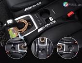 Amg barcikner Mercedes-Benz AMG Կաշվից Բարձիկներ (2 հատ) (Նորույթ)