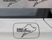 BMW nakleyka M Nurburgring BMW Qartez bmw tip bmw sticker m