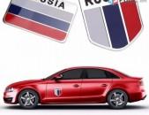 RUSSIA Emblemaner drosh LADA GAZ emblem lada logo russian sticker