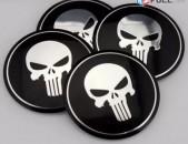 Punisher Gang nakleyka Bandaji Kalpaki Nakleyka (4Pcs) (65mm) բարձր որակ