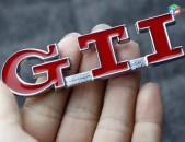 Gti emglem Volkswagen GTI Sport metaxakan Emblema (gti Logo) (բարձր որակ)