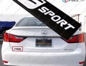 LEXUS F SPORT Emblem metaxakan lexus emblem logo (Բարձր Որակ)