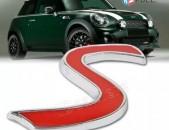 S Metaxakan Karmir Emblem Mini Cooper emblem