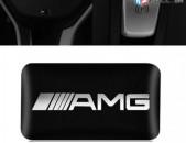 AMG Nakleyka Mercedes-Benzi Dekoraciayi Hamar (AMG Sticker Black)