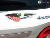 Մեքենայի Նակլեյկա Ջրադիմացկուն Աղջկա Աչքեր