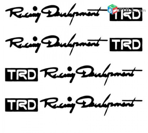 Meqenayi ruchkeqi nakleyka jradimackun Sport Racing Development TRD brnaki tip 4