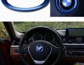 BMW Ղեկի Լոգոյի Ինքնակպչուն Շրջանակ (Մետաղական)