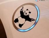Avto nakleyka zenqerov Panda meqenayi nakleyka