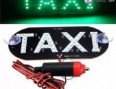 TAXI luys LED Տաքսի Լույս 12V (կանաչ գույն)