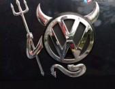 Avtoyi Logoi Demon nikelapat nakleyka meqenayi emblem