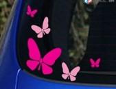 Meqenayi nakleyka Մեքենայի Նակլեյկա Կին Վարորդների Համար 5 hat (Թիթեռներ) Նորույ