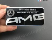 Mercedes-Benz AMG Edition metaxakan Emblem (Black)