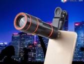 Heraxosi heraditak Հեռախոսի Ունիվերսալ Հեռադիտակ Telescope 12X HD zoom heraxosi