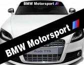 BMW Motorsport Parbrisi Jradimackun Nakleyka Ավտո Սթայլ