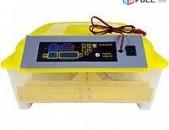 Ինկուբատոր 56 ձվի Ավտոմատ + 12Վ Խոնավության ցուցիչ Inkubator инкубатор
