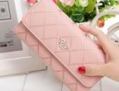 Կանացի դրամապանակ LUXURY Pink
