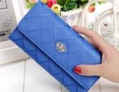 Կանացի դրամապանակ LUXURY Blue