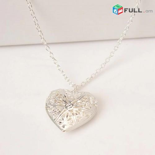 Կանացի վզնոց Silver Heart