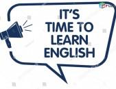 Անգլերեն լեզվի անհատական և խմբակային դասընթացներ