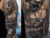 Tattoo ashxatanqner