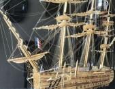 Փայտիկներից ձեռքով պատրաստված նավ