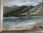 Հ. Անդրեասյան Սևանի լողափը (1987թ)