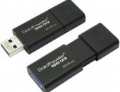 Usb Flash Kingston DT100G3 64Gb USB 3.0 նոր անվճար առաքում