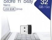 Usb Flash Verbatim Nano 32gb USB 2.0 նոր անվճար առաքում