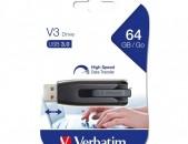 Usb Flash Verbatim V3 64gb USB 3.0 նոր անվճար առաքում