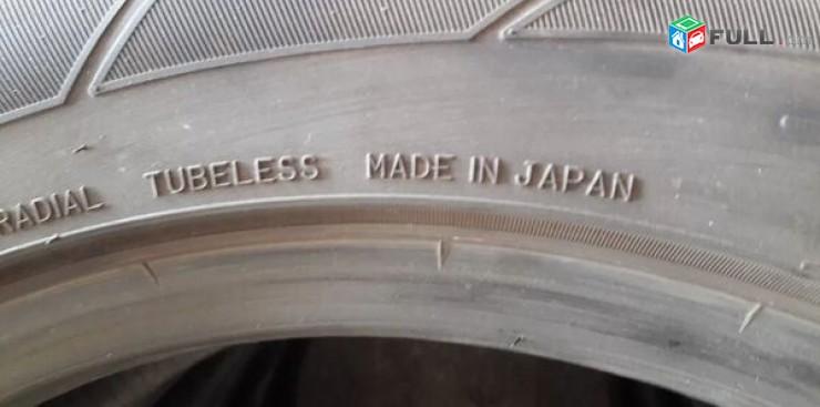 215 55 17 DUNLOP JAPAN. 90% 4hat. gerazanc vijak texadrum anvjar
