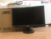LED Monitor AOC LOS E970Swn 19 նոր է монитор էկրան