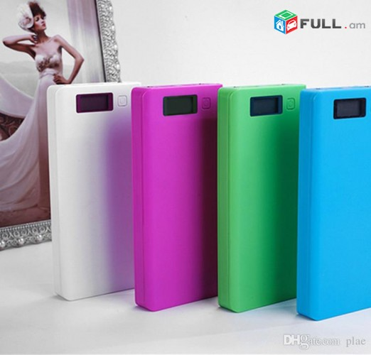 Power Bank Mobile 30mAh LED մարդկոց akumulator battery