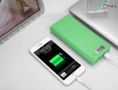 Power Bank Mobile 30mAh LED մարդկոց akumulator battery
