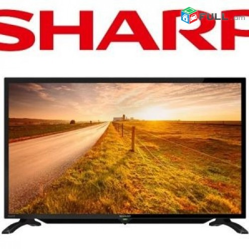 "herustacuyc SHARP 32"" 80sm LED HD Հեռուստացույց + aparik"