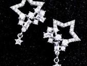 Կանացի զարդեր. Ականջօղեր. ականջօղ. Աստղեր. 925հարգի. akanjox. серьги