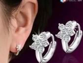 Կանացի զարդեր. ականջօղ. ականջօղեր. ծաղիկներ. արծաթ 925 հարգի. серьги. akanjox