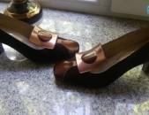 Բնական զամշից, կոշիկներ