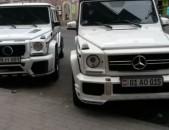 Rent a car Mercedes s63 AMG G 63 brabus Prakat Avto harsanekan meqenaneri vardzu