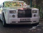 Prokat. prakat. rent a car harsanekan mekenaner ROLLS Phantom