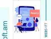 React JS Angular Web Դասընթաց / React JS Dasntac