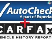 Carfax / Autocheck  , Iaai /copart photo