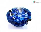Comp Service: PC Cooler Blue Led Համակարգչի Հովացուցիչ Լույսով