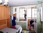 Բնակարանների մաքրում Bnakaranayin ev grasenyakayin maqrum